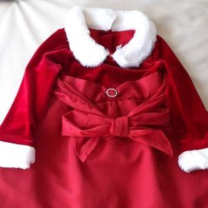 EUC Red dress for X'mas